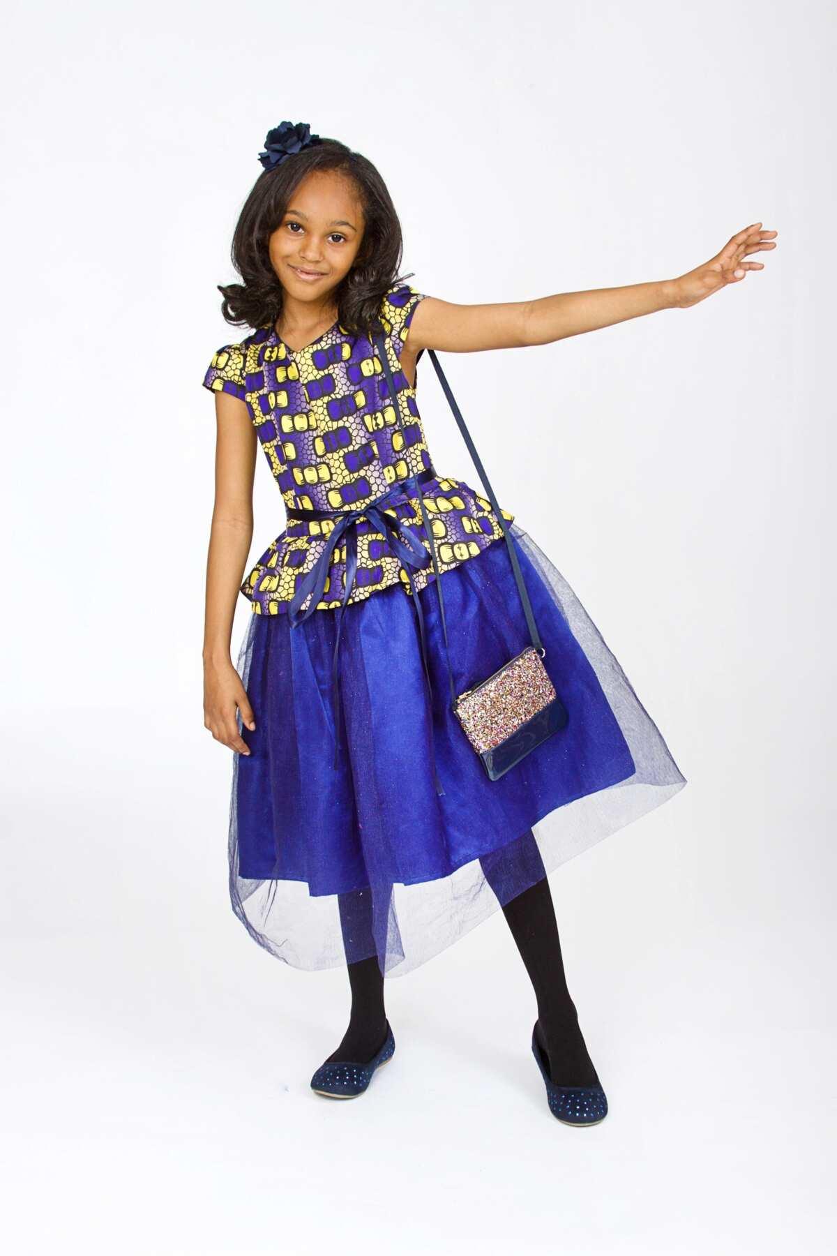 Ankara mixed style for girls