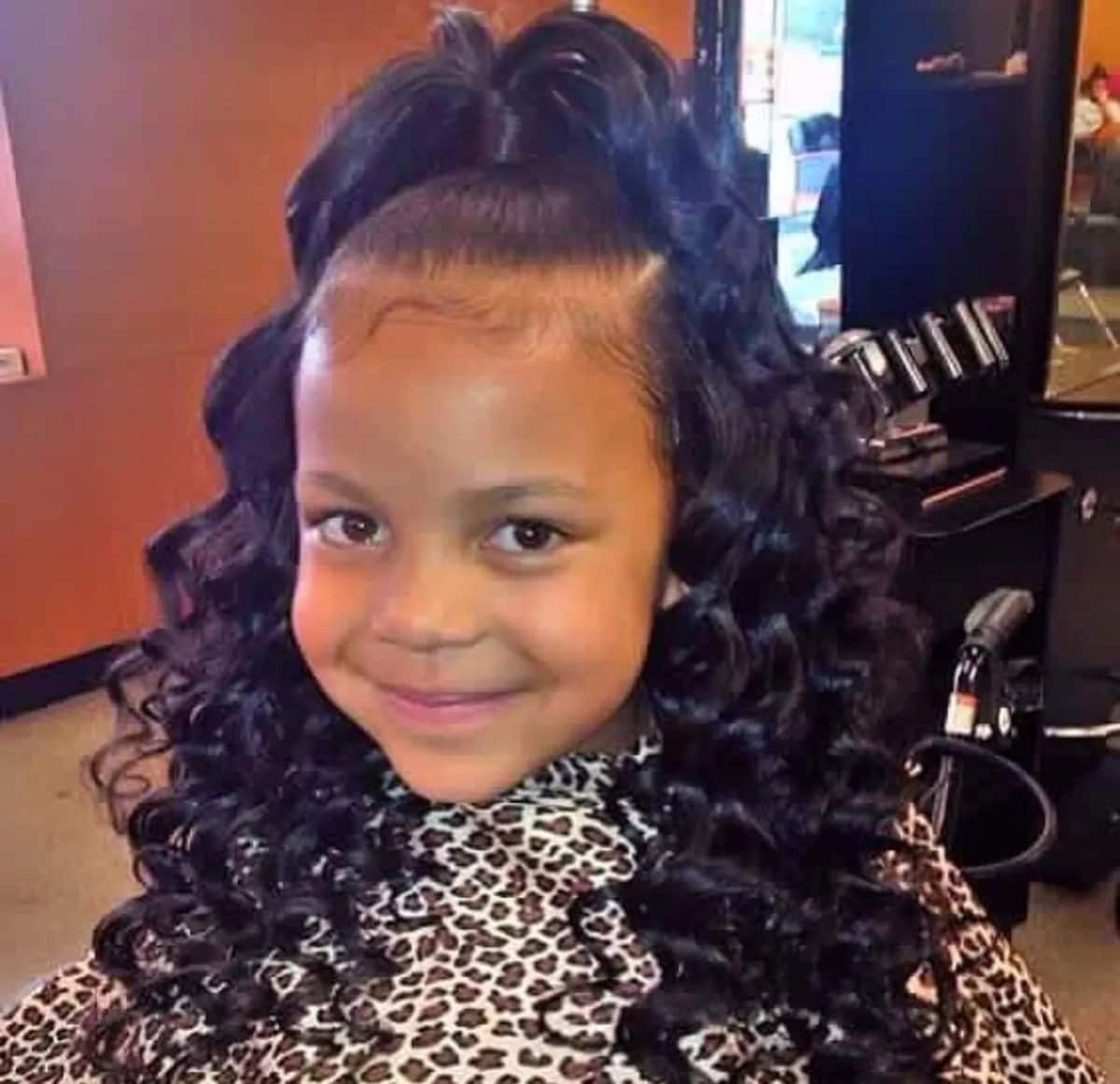 Shirley temple curls