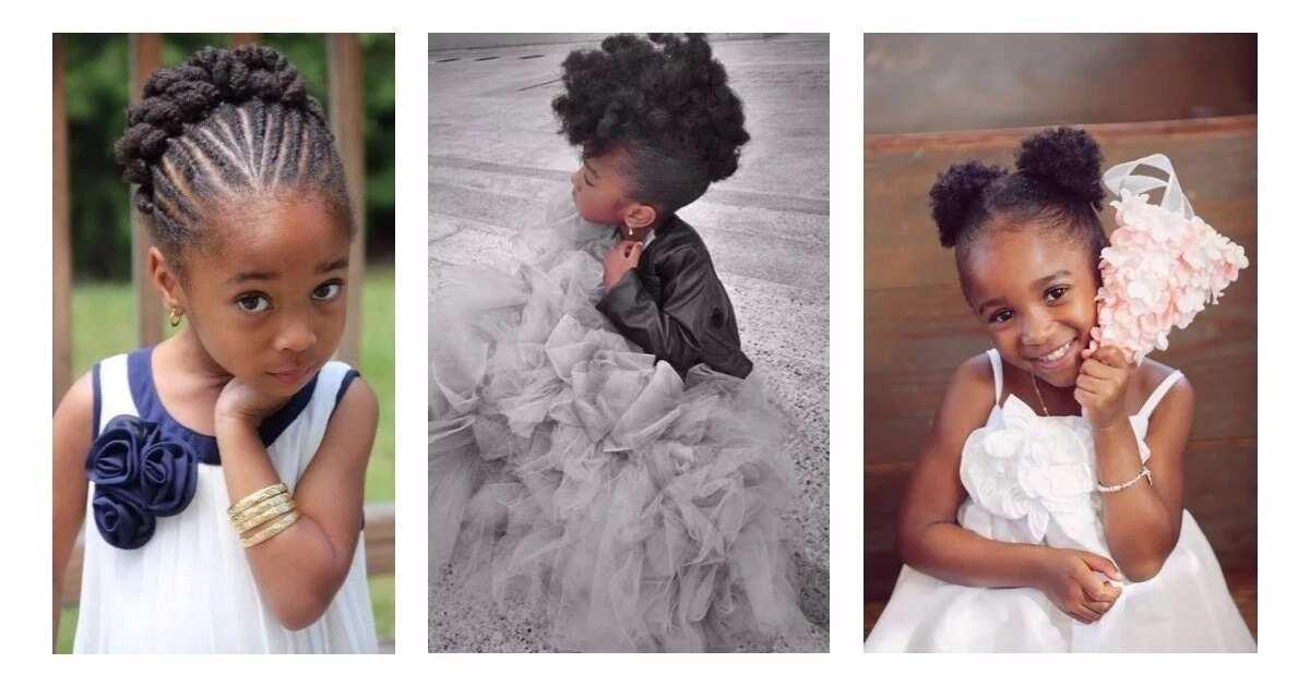 Little Bride Hairstyles In Nigeria Legit