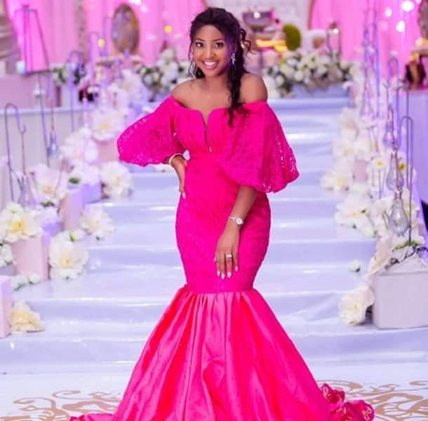 Aso Ebi styles evening gown