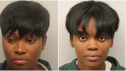 Two women in their late 20s get arrested for selling edible 'hard substance' in church (photos)