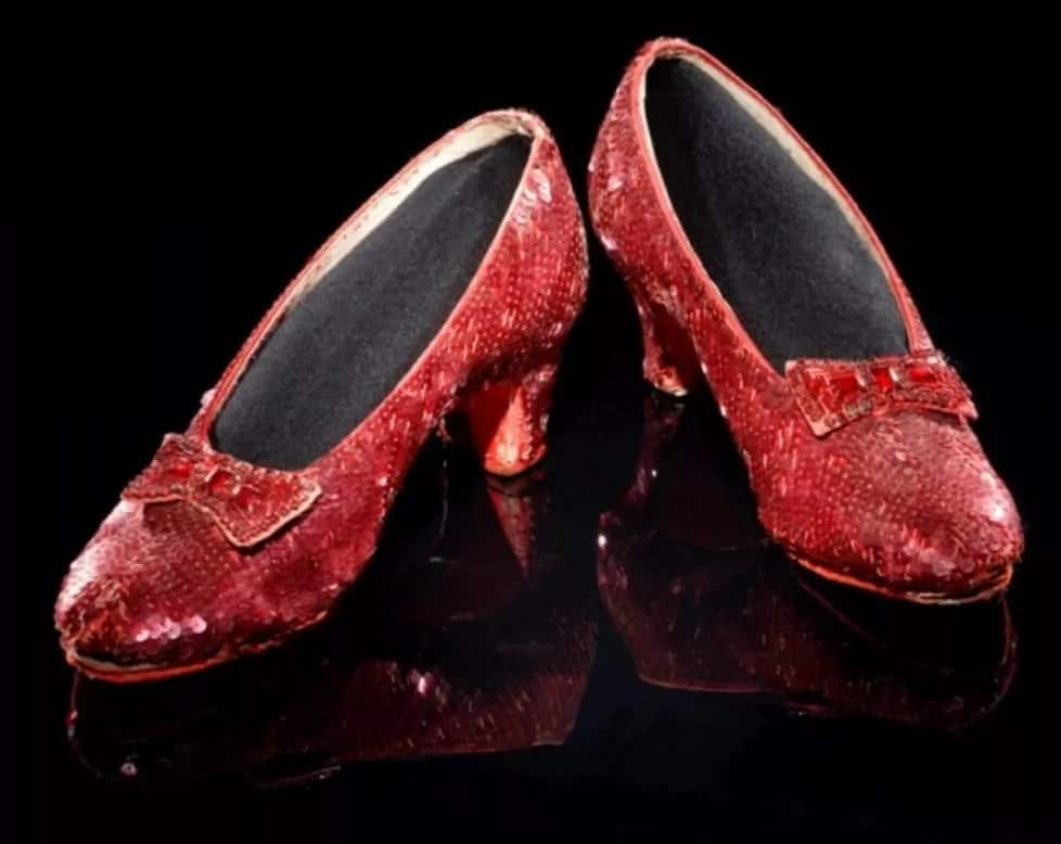 Wizard of Oz rubies shoes - Most expensive shoes in the world