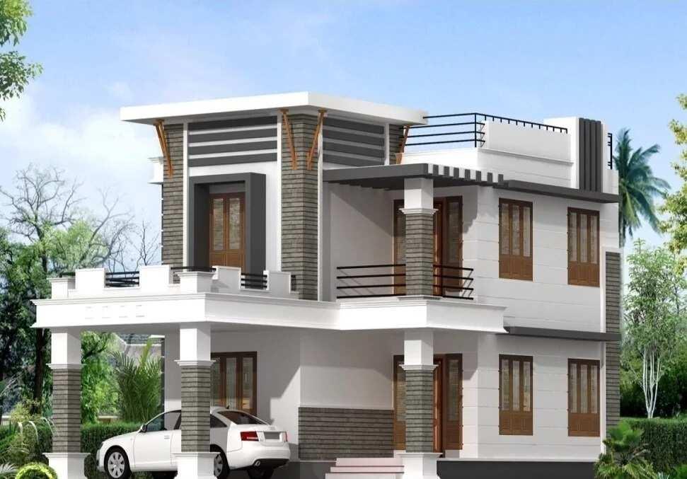 Parapet designs for house in Nigeria ▷ Legit ng