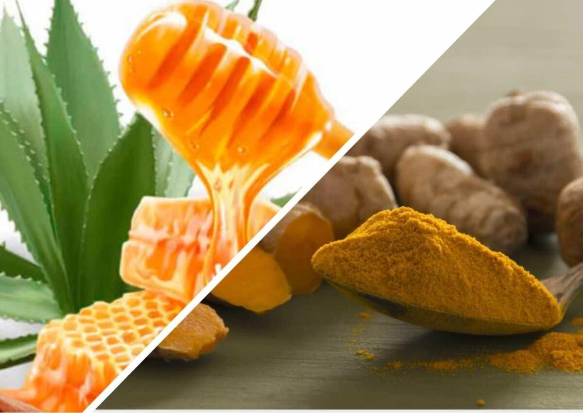 Aloe Vera Honey and Turmeric