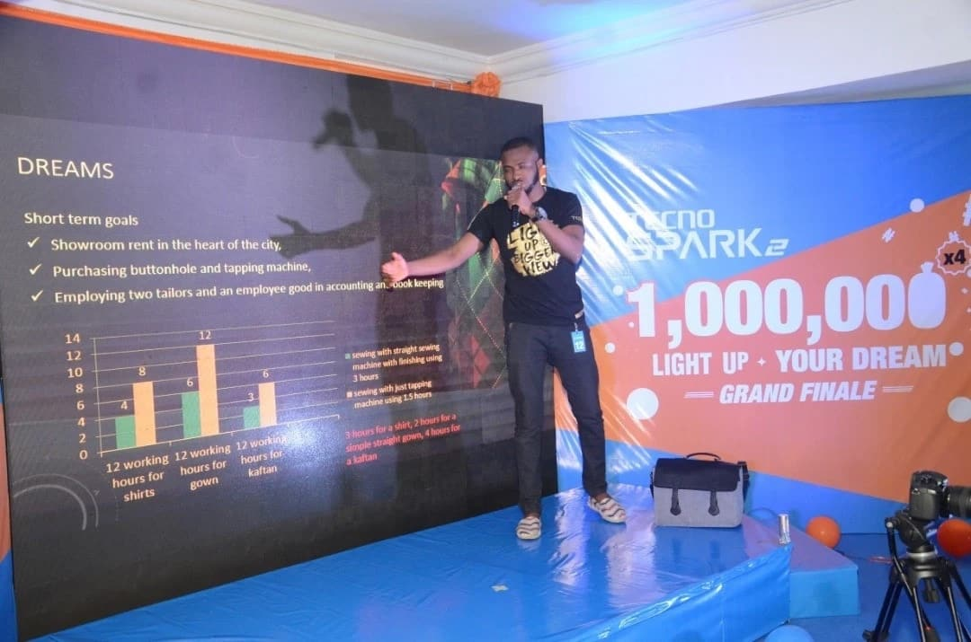 TECNO deserves some accolades! Gives out N4million in the #LightUpYourDream2018 promo