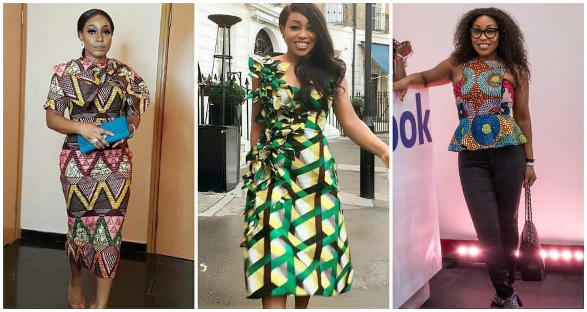 Rita Dominic prefers abstraction and stripes