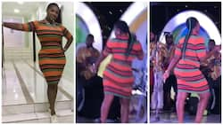 Mercy Johnson gives audience more than they expected as she twerks (photo, video)