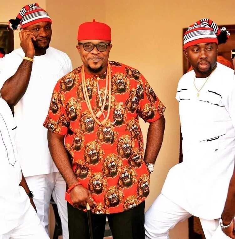 Types of Igbo dressing Isiagu top