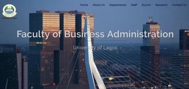 University of Lagos Faculty of Business Administration