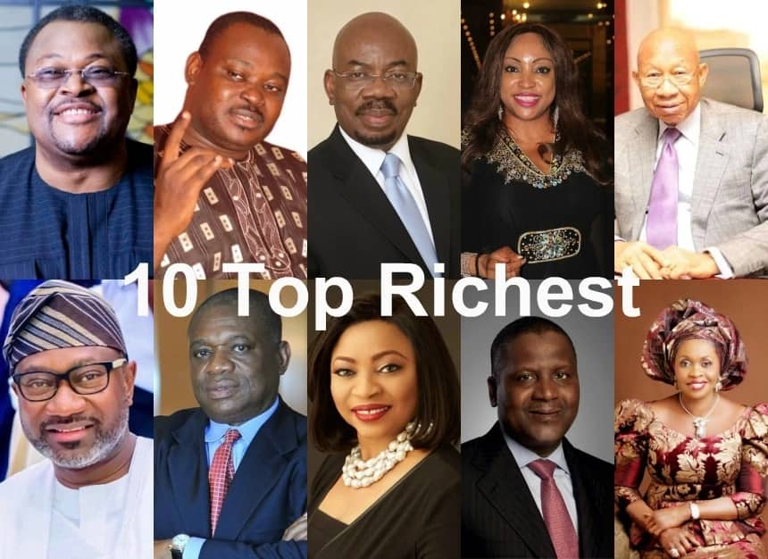 Top 10 Richest People in Nigeria in 2019 [Updated] ▷ Legit ng