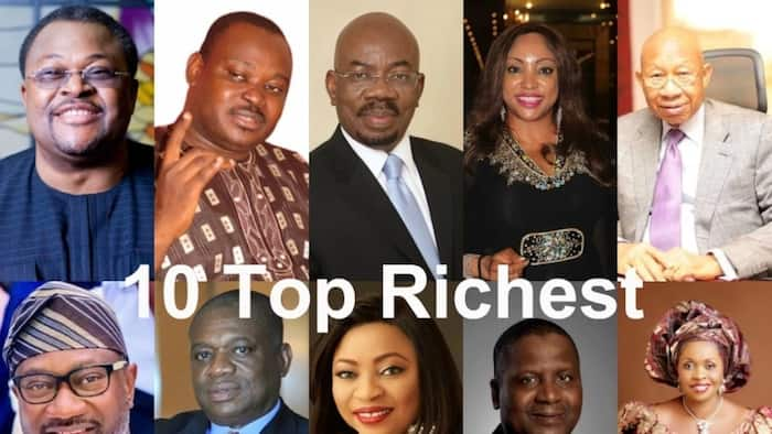 Top 10 richest people in Nigeria and their net worth