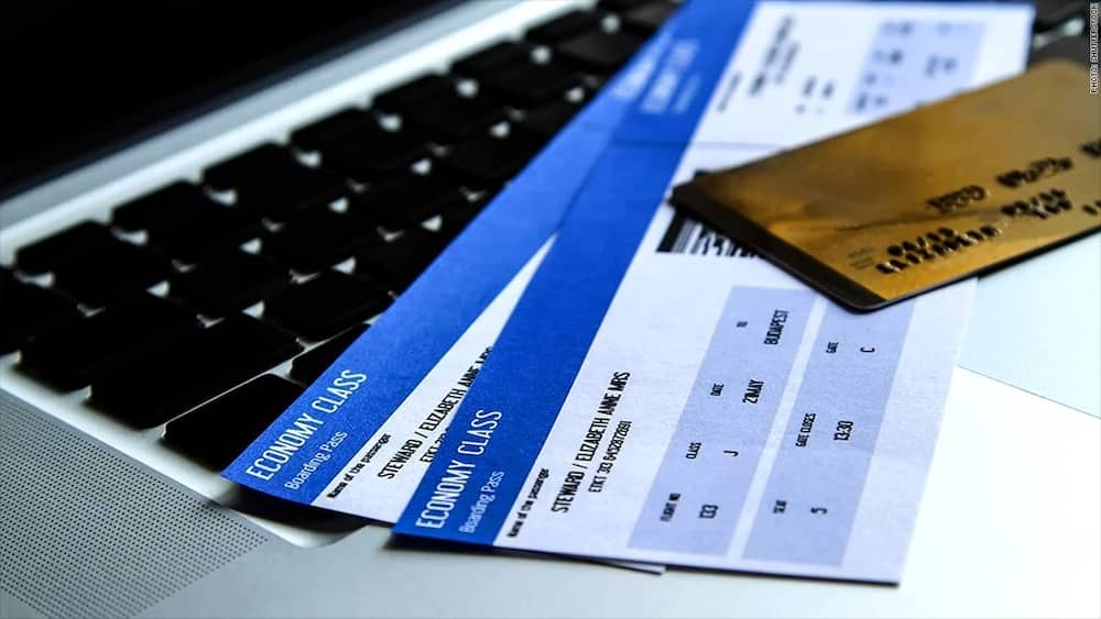 flight tickets without payment