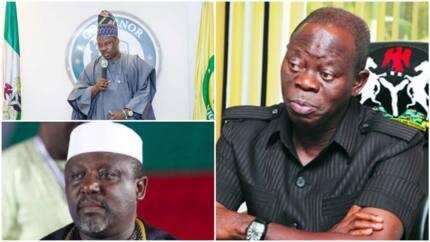 Amincewar Buhari muke jira - APC ta sha alwashin daukar mataki kan wasu gwamnoni 2