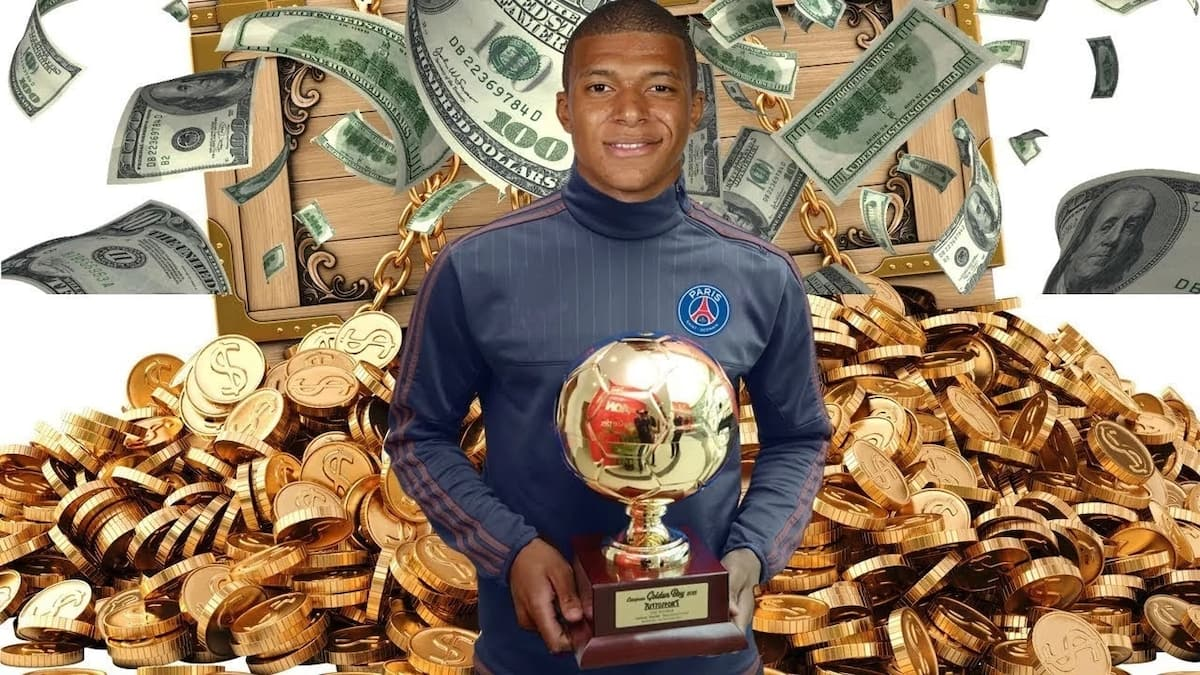 Kylian Mbappe profile, net worth and parents