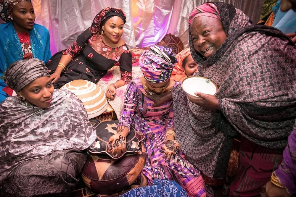 Marriage process in Hausa land (photos)