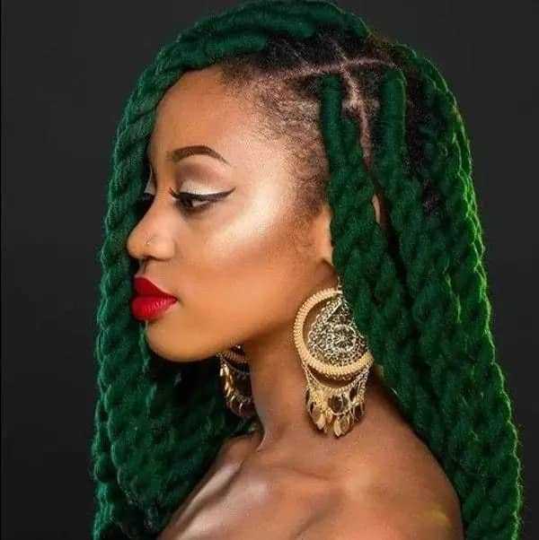 Nigerian hairstyles with wool