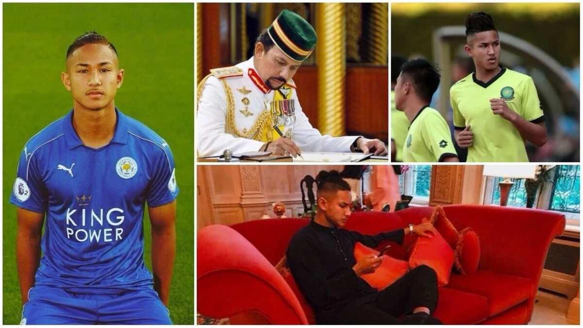 Meet the world's richest footballer 19-year-old Faiq Bolkiah ▷ Legit ng