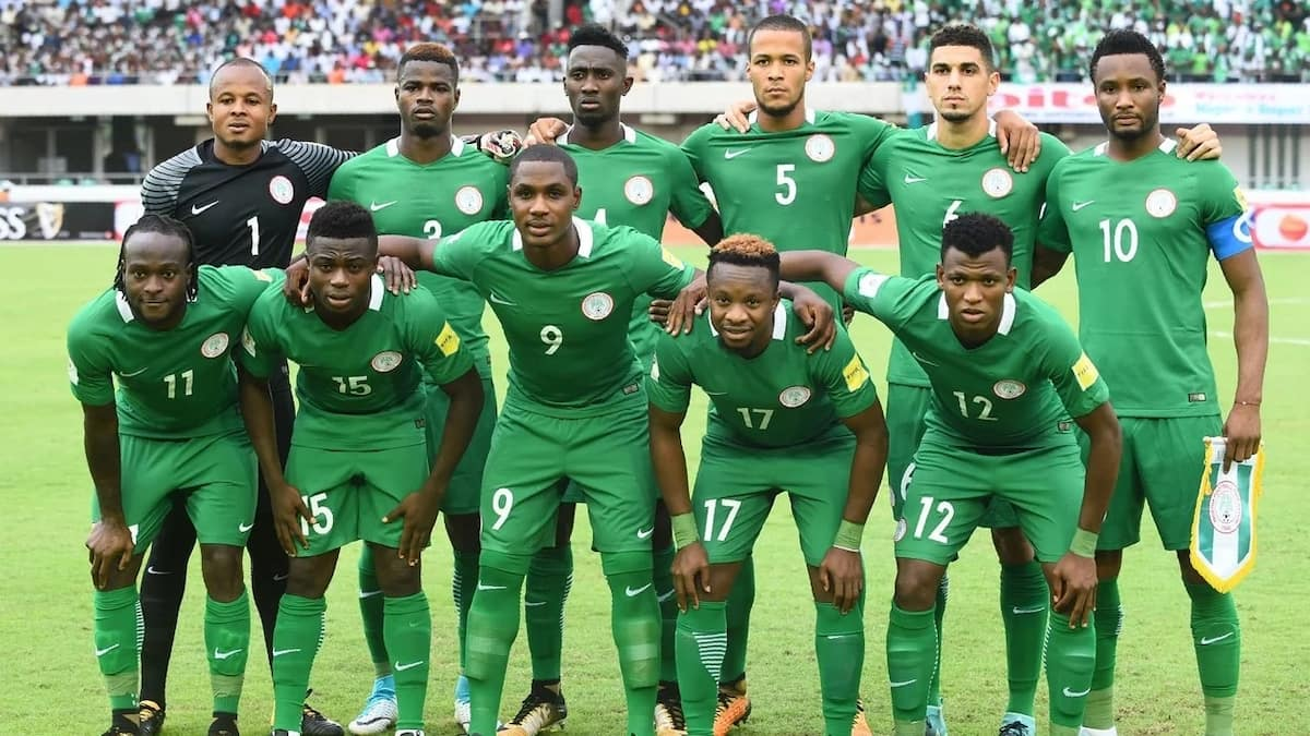 nigerian national footbal team 2018