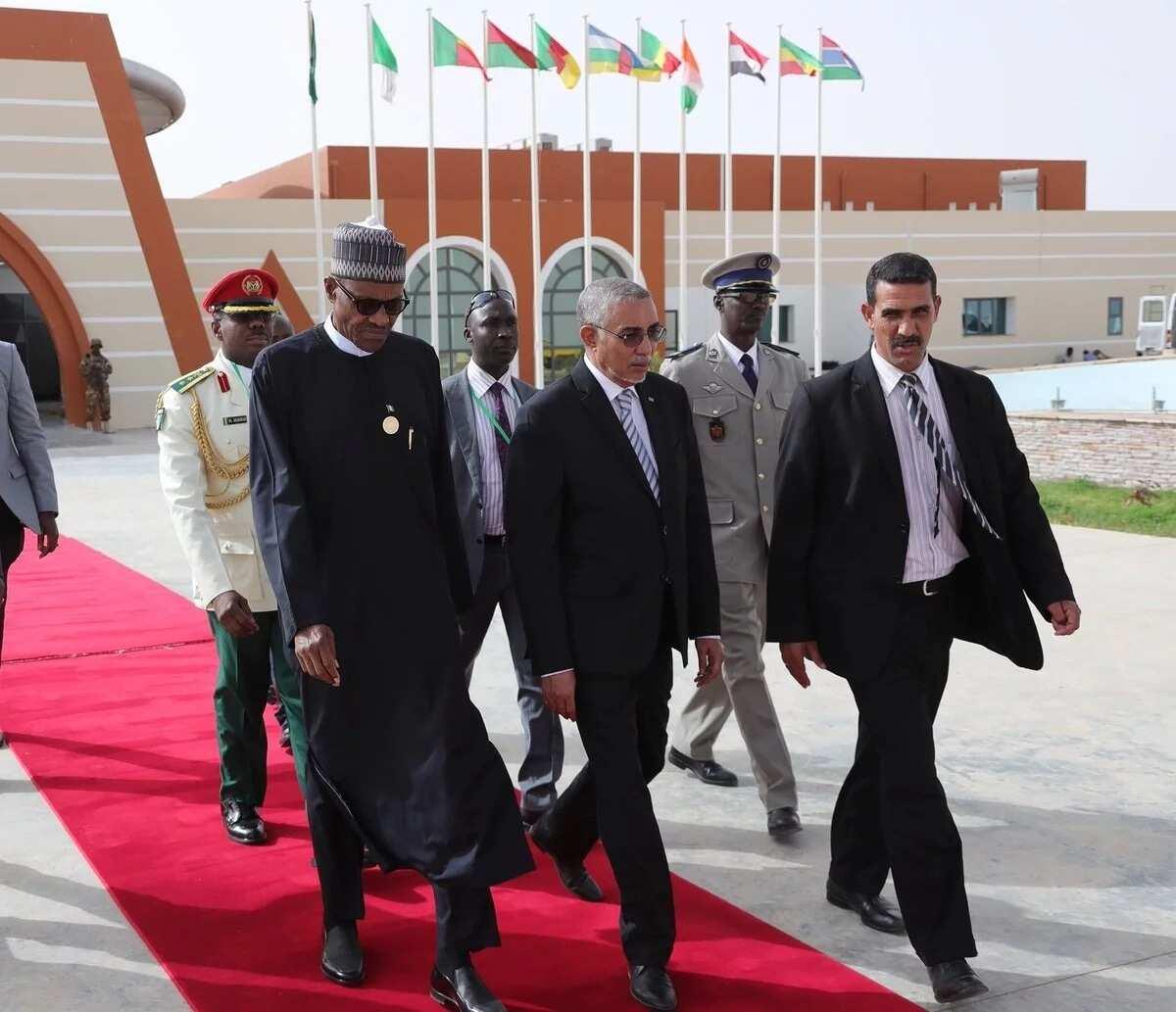 Buhari ya karkare ziyarar kasar Mauritania ya kamo hanyar dawo gida