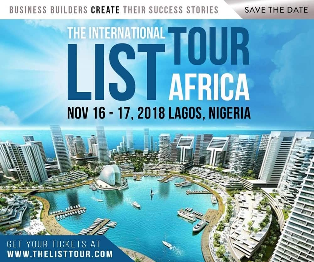 Nigeria to host the first African Global LIST Tour