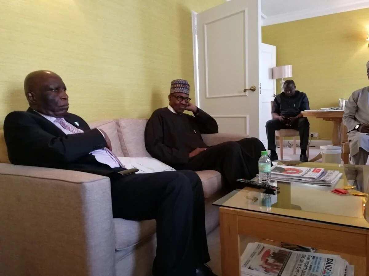 Breaking: Buhari on way back to Nigeria (photos)