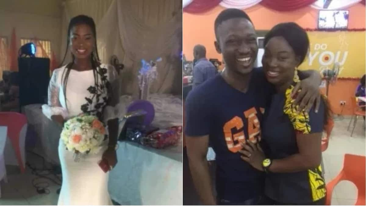 614e72b7d3f Nigerian lady gets proposed to few days after catching the bouquet at a  wedding