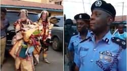 Lagos police arrest masquerades for robbing people in Agege (video)