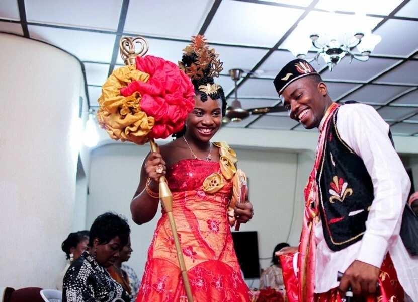 Igbo cultural dressing for wedding
