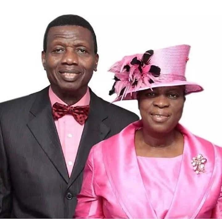 Image result for Pastor EA Adeboye and wife