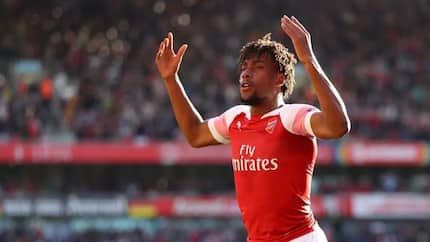 Unai Emery sends important message to Iwobi after his impressive performance in Arsenal's draw against Liverpool