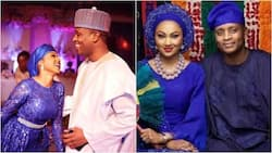 Zahra Buhari and Ahmed Indimi name son 'Muhammad' after their fathers