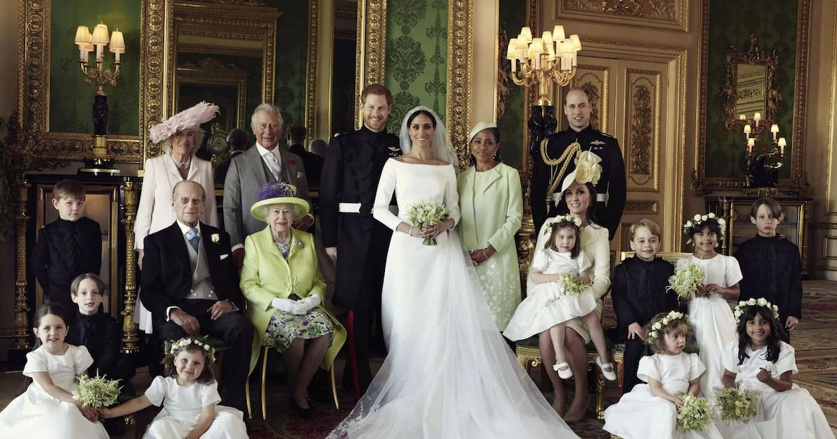 Royal family after the wedding