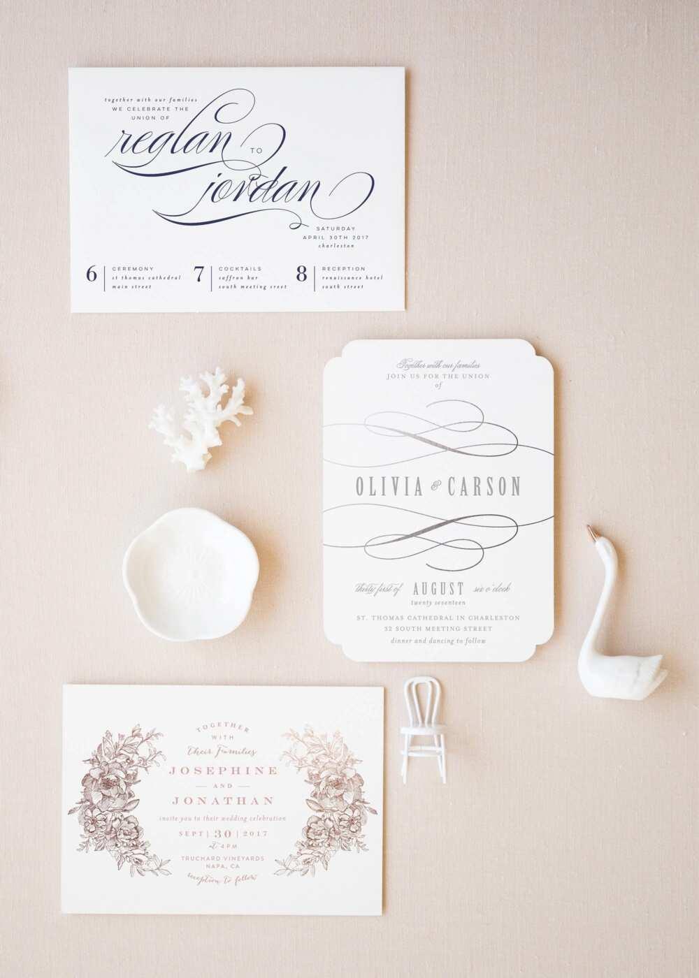 Nigerian wedding invitation cards - DIY ideas ▷ Legit.ng