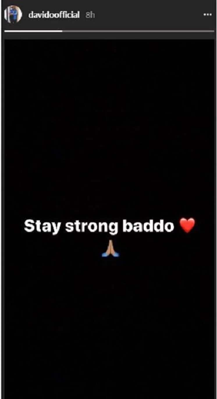 Davido, Adekunle Gold commiserate with Olamide over the death of his mother