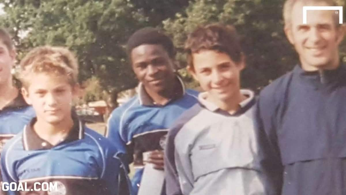Victor Moses in youth years