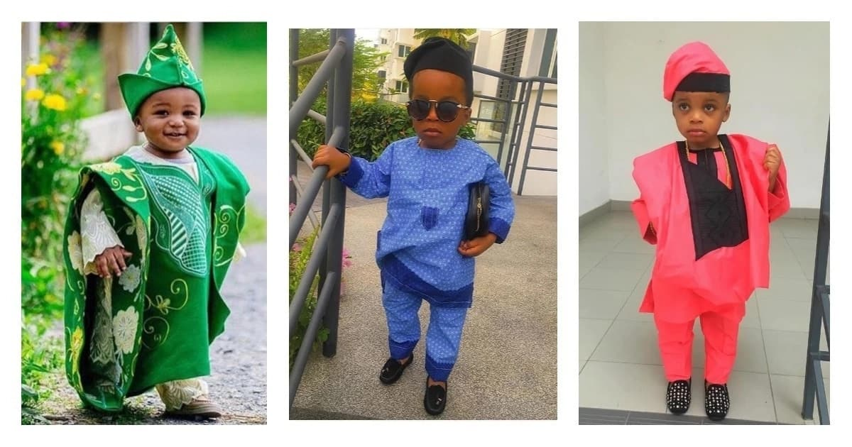 Baby boy native styles in Nigeria