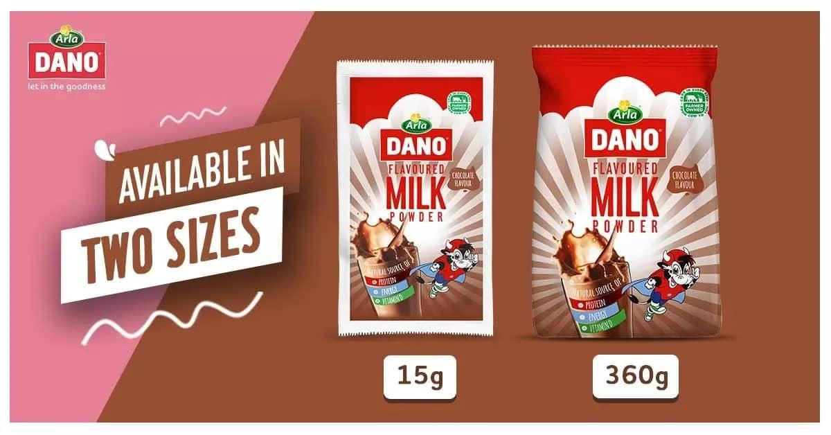 Dano flavoured milk now available in stores