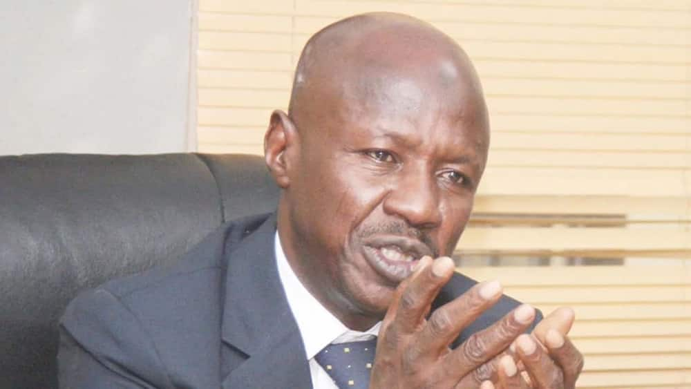 EFCC: Some forfeited assets given to presidential villa, federal agencies - Magu