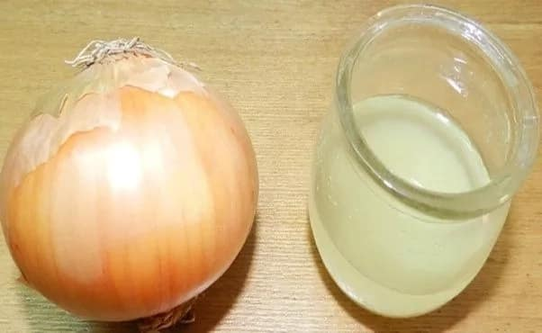 How to make onion juice for hair growth
