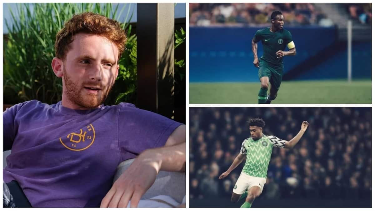 05d6a38b7d8 Meet Matthew Wolff - the man who designed the Super Eagles kit ▷ Legit.ng