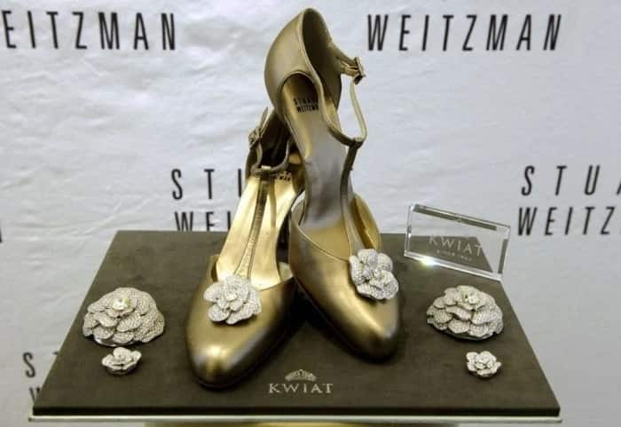 Retro rose shoes - Most expensive shoes in the world