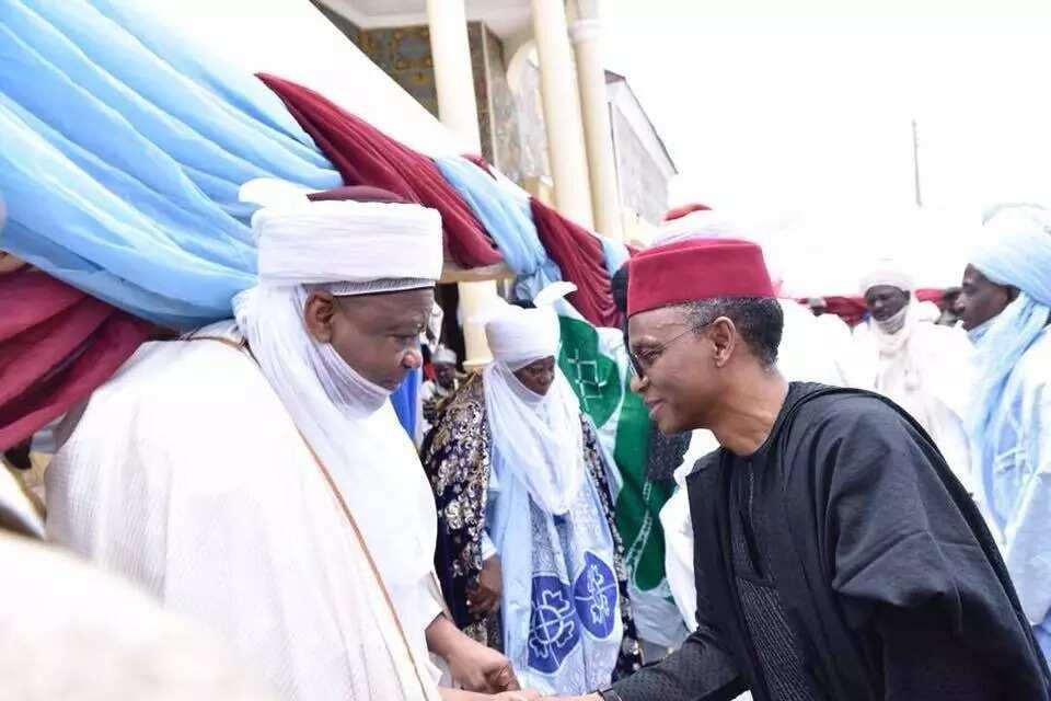 El-Rufa'i ya halarci bikin bude Islamiyya da jigo a PDP ya gina a Zaria, hotuna