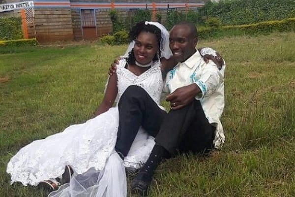 Deaf couple finally wed after communicating via SMS in Kenya (photo)
