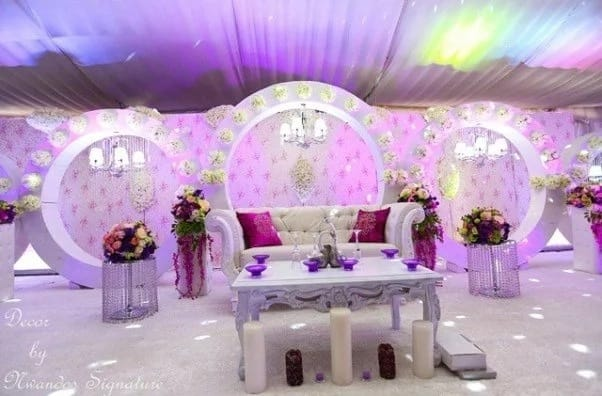 Traditional Wedding Decoration In Nigeria Legit