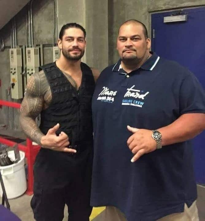 Roman Reigns and Rosey