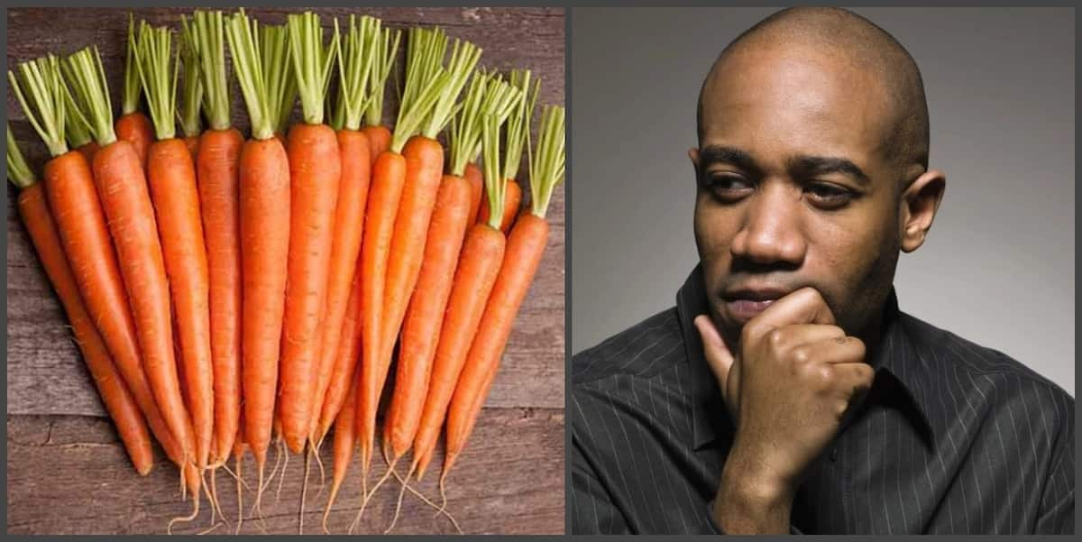 Carrot benefits for men