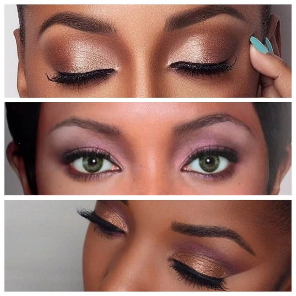 To finish you beautiful look, use mascara and eyeliner. Eyeliner will make your eyes look bigger. Mascara is used for thickening and lengthening the ...