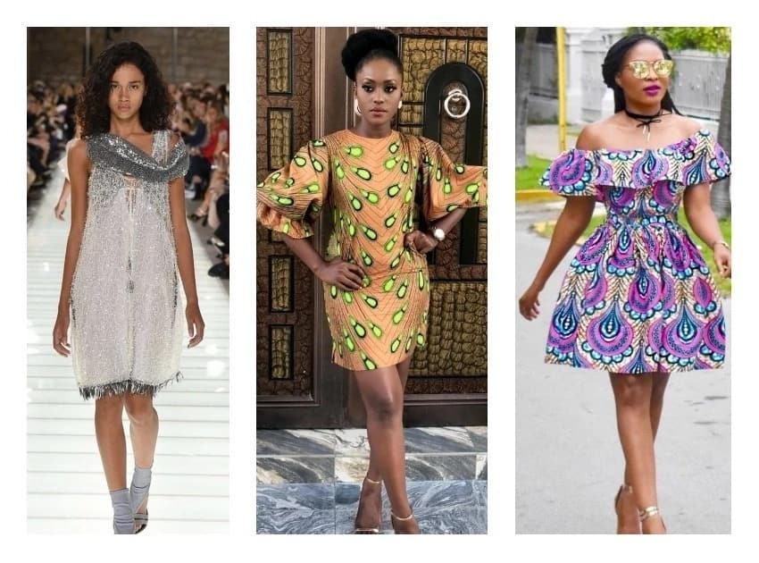 Latest Short Gown Styles For Real Fashionistas Legitng