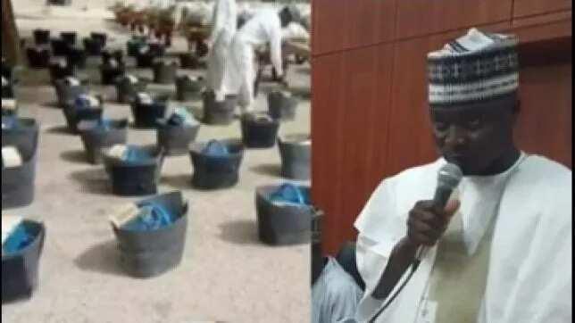 Abin kunya: Kwamishinan jihar Borno ya bayyana dalilinsa na raba ma mata kayan shushaina
