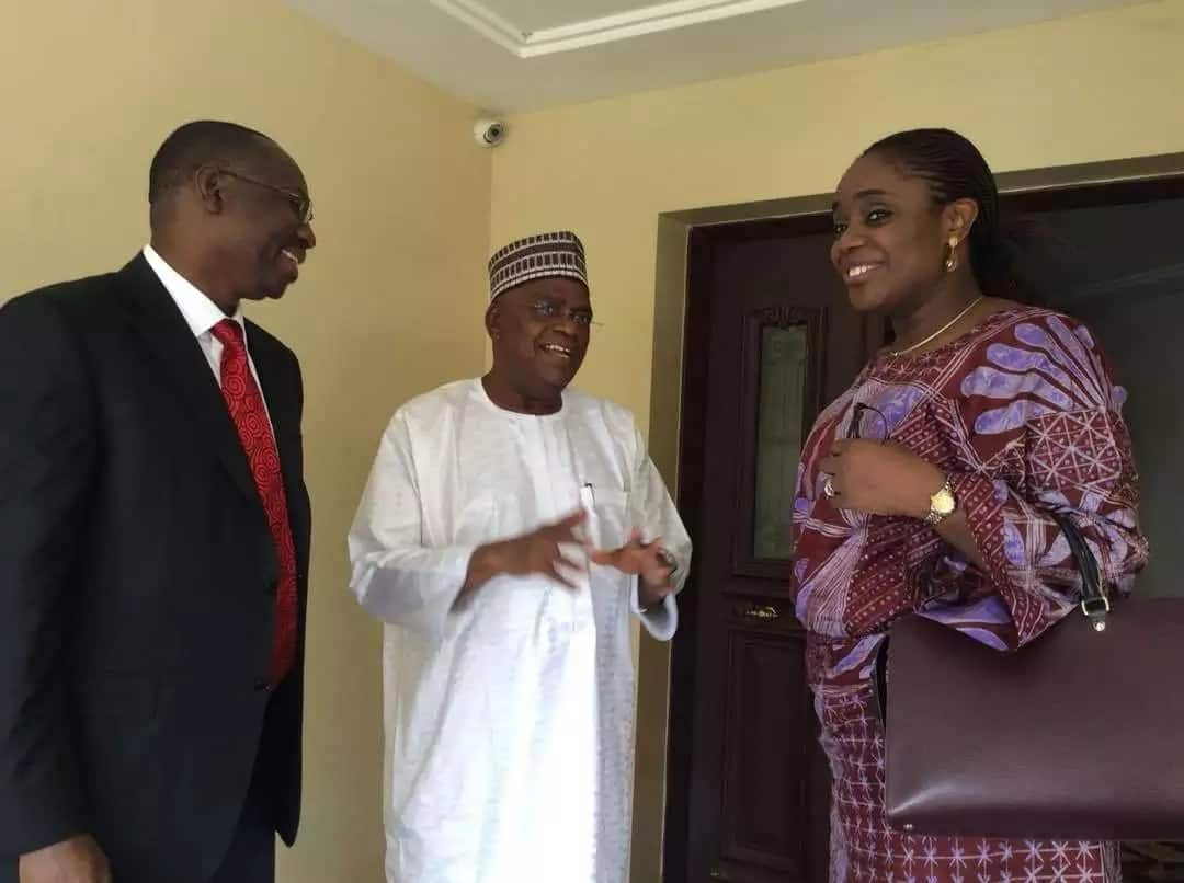 UPDATE: Dignitaries visits Senator Goje - to condole with him on the loss of his wife, burial postponed till Saturday, November 4